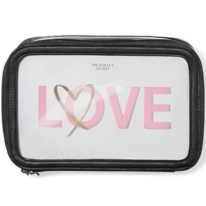"Victoria's Secret ""LOVE Backstage"" Makeup Case"